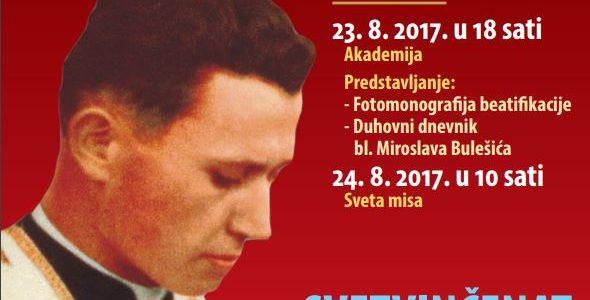 Trodnevnica u čast bl. Miroslava Bulešića – tekst molitve
