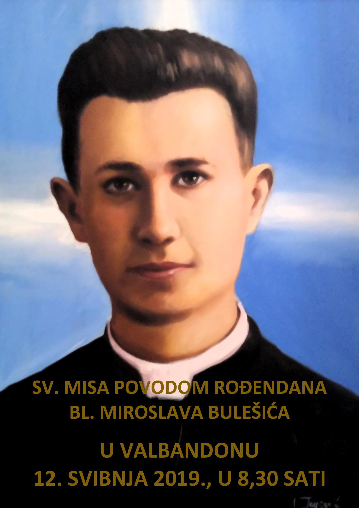 Proslava 99 rođendana bl. Miroslava Bulešića u Valbandonu kod Fažane