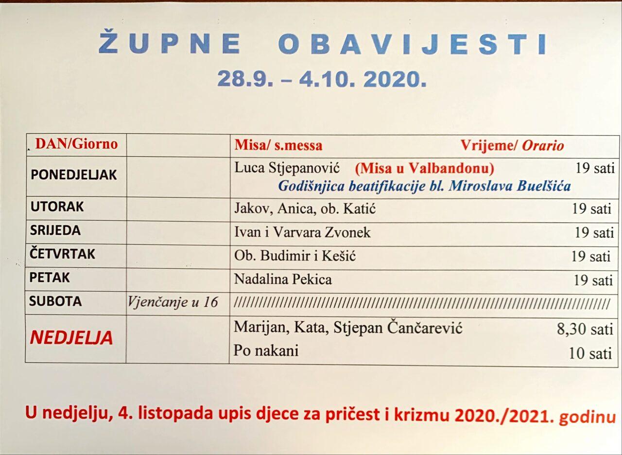 Godišnjica beatifikacije Miroslava Bulešića u Valbandonu