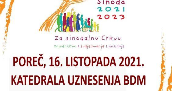 Početak sinodalnog puta u Porečkoj i Pulskoj biskupiji